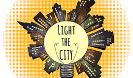 LIGHT the City logo